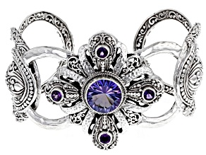 Chatty™ Quartz Sterling Silver Bracelet 5.80ctw