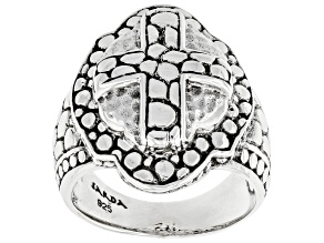 """Sterling Silver """"Present Moments"""" Ring"""
