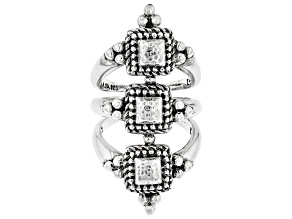"""Sterling Silver """"Remain Faithful"""" Ring"""