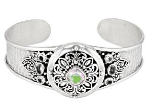 Zero Saturn™ Mystic Quartz® And Topaz Silver Bracelet 1.94ctw