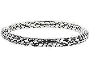 """Sterling Silver """"He Breaks The Chains"""" Hero Bracelet"""