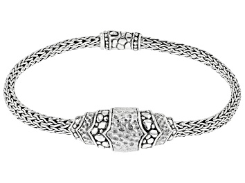 """Picture of Sterling Silver """"Hope Renewed Today"""" Bracelet"""