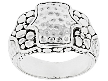 """Picture of Sterling Silver """"Hope Renewed Today"""" Ring"""
