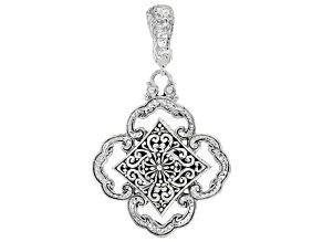 """Sterling Silver """"Promise Keeper"""" Pendant"""