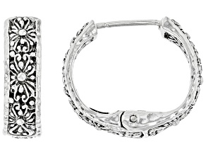 "Sterling Silver ""Promise Keeper"" Earrings"
