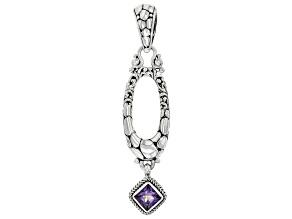 Purple Ivy™ Topaz Sterling Silver Pendant .85ct