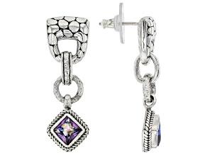 Purple Ivy™ Topaz Sterling Silver Earrings 1.70ctw
