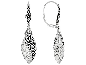 """Sterling Silver """"Step Out In Faith"""" Earrings"""