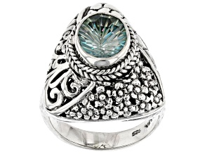 Electric Moment™ Quartz Sterling Silver Ring 2.30ct