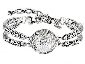 "Silver ""Nurturing What You Sow"" Bracelet"
