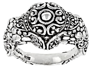 Sterling Silver Colossal Elephant Ring