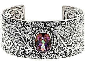 Hayward's Muse™ Mystic Quartz® Sterling Silver Cuff Bracelet 7.90ctw