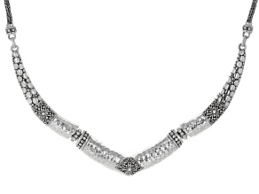 Sterling Silver Janyl Adair Collar Necklace