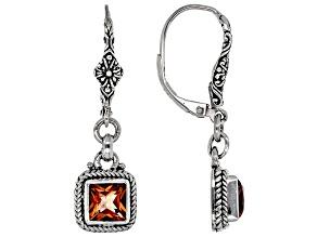 Ardent™ Topaz Silver Earrings 2.30ctw