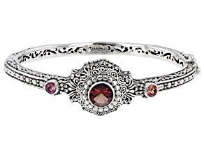 Aureste™ Quartz, Magnifique Sunrise™ Topaz Silver Bracelet 2.04ctw