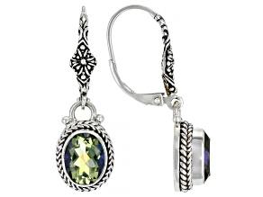 Lily Frost™ Quartz Silver Earrings 3.24ctw
