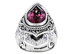 Forgetful™ Quartz Silver Ring 4.26ct