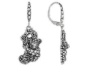 """Silver """"Pour Into Another"""" Koala Earrings"""