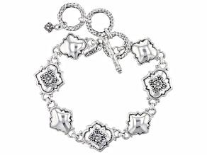 """Sterling Silver """"Promise Keeper II"""" Bracelet"""