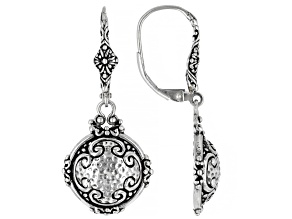 """Sterling Silver """"Seize His Moments"""" Earrings"""