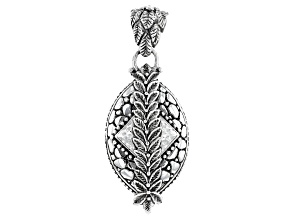 "Silver ""Path Of Life"" Watermark Pendant"