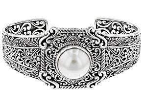 Pearl Mabe Silver Bracelet
