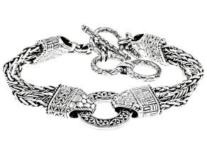 Silver Watermark Bracelet
