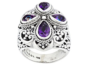 Talkative™ Mystic Quartz® Silver Ring 2.40ctw