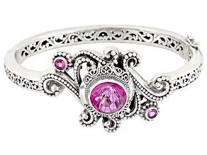 Pure Pink™ Mystic Topaz® Silver Bracelet 7.90ctw