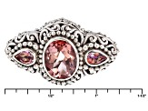 Always True Rose™ Mystic Quartz® Silver Bracelet 4.15ctw