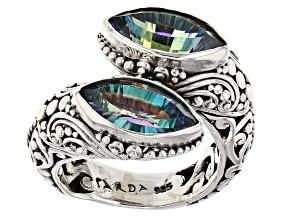 Pilgrim's Quest™ Mystic Quartz® Silver Ring 2.72ctw
