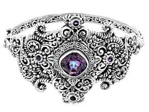 Flashback™ Mystic Quartz® Silver Bracelet 4.75ctw