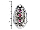 Fireflies™ Mystic Topaz® Silver Ring 1.89ctw