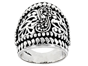 Sterling Silver Filigree Statement Ring