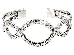 Sterling Silver Twist Cuff Bracelet