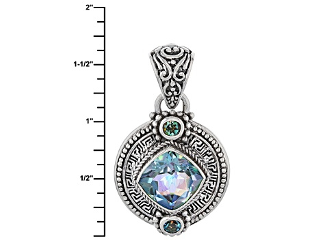 Endless Song™ Quartz Silver Pendant 4.70ctw