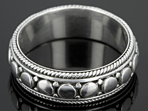 Sterling Silver Gents Band Ring