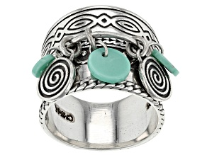 Blue Campitos Turquoise Sterling Silver Ring