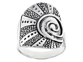 Circle Of Life Silver Ring