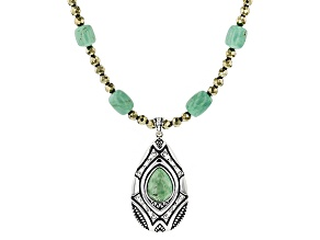Turquoise Kingman Silver Necklace