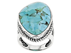 Turquoise Kingman Sterling Silver Ring