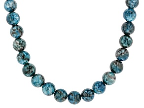 Blue Apatite Sterling Silver Necklace