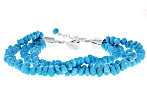Turquoise Sleeping Beauty Multi-strand Bracelet