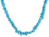Turquoise Sleeping Beauty Sterling Silver Necklace