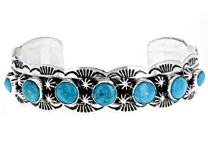 Turquoise Sleeping Beauty Sterling Silver Bracelet