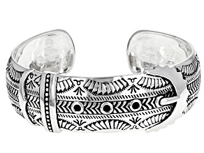 Sterling Silver Belt and Buckle Cuff Bracelet