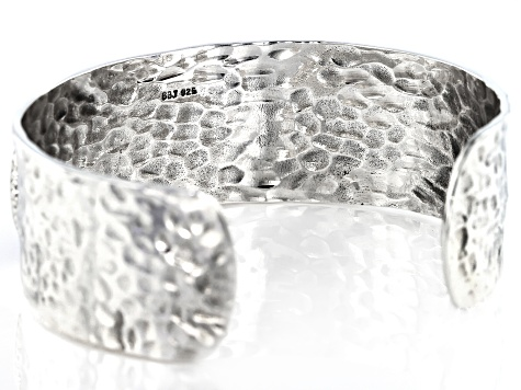 Sterling Silver Coin Cuff Bracelet