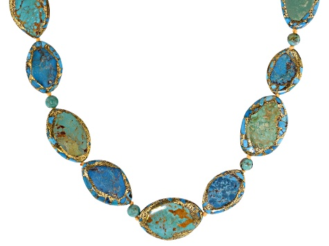 Turquoise Necklace Strand