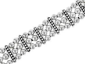 Sterling Silver Multi-strand Bracelet