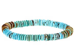 Mix Color Turquoise Stretch Bracelet